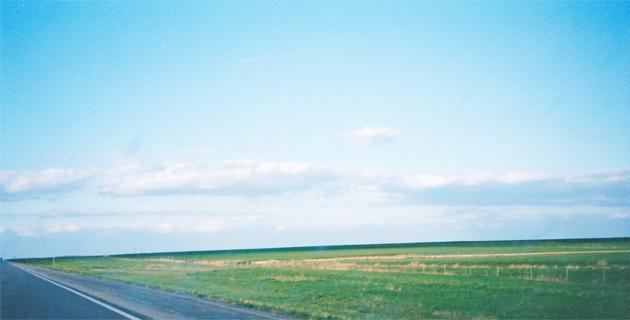 カンザスの平原